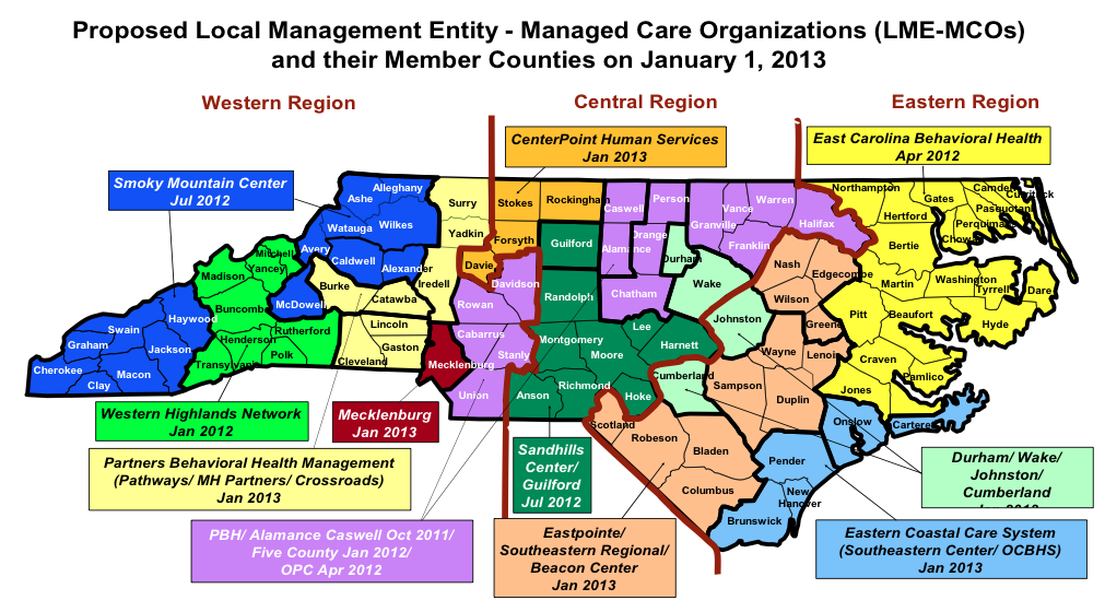 Nc Nielsen >> The Future of NC Medicaid Behavioral Health: Will We Soon Be Down to Eight MCOs? Two More ...